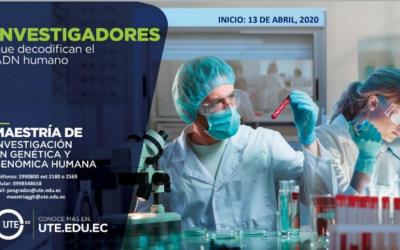 Maestría de Investigación en Genética y Genómica Humana
