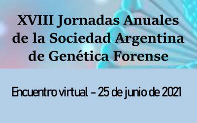 XVIII Jornadas Anuales de la Sociedad Argentina de Genética Forense